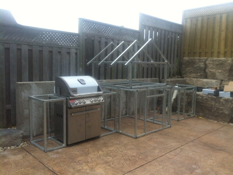 backyard barbecue kits small backyard landscaping ideas