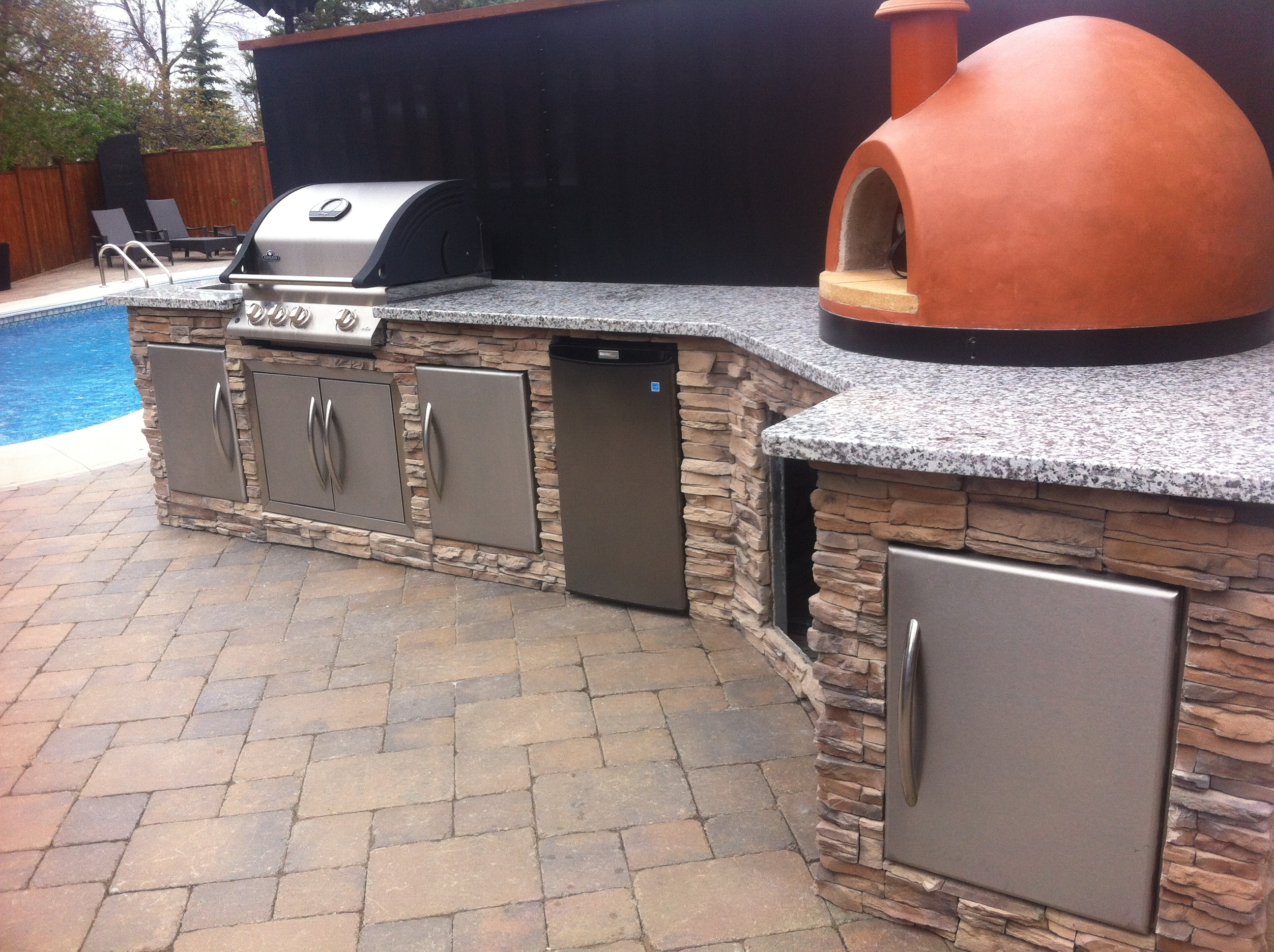 Diy Outdoor Kitchen Frames How To
