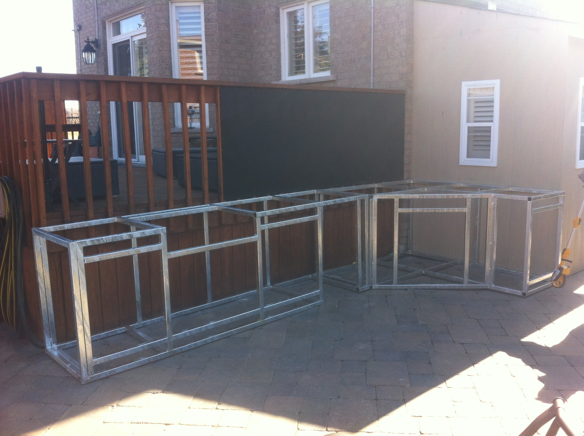 Steel Frame Outdoor Kitchen How To