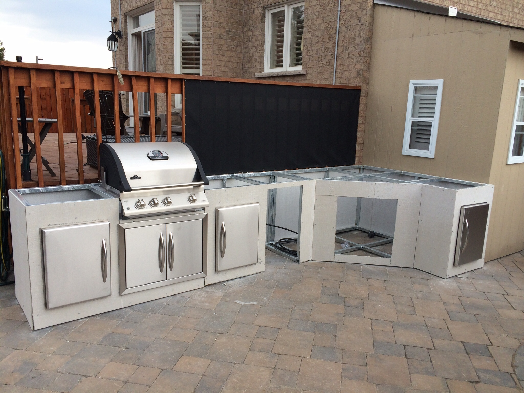 Outdoor Kitchen Frames Kits How To